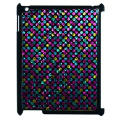 Polka Dot Sparkley Jewels 2 Apple Ipad 2 Case (black) by MedusArt