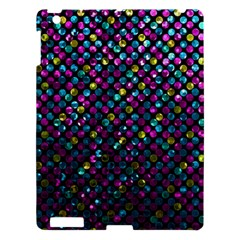 Polka Dot Sparkley Jewels 2 Apple Ipad 3/4 Hardshell Case by MedusArt
