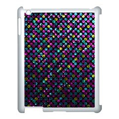 Polka Dot Sparkley Jewels 2 Apple Ipad 3/4 Case (white) by MedusArt