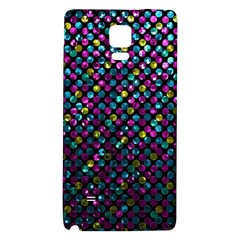 Polka Dot Sparkley Jewels 2 Galaxy Note 4 Back Case by MedusArt
