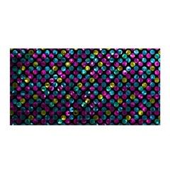 Polka Dot Sparkley Jewels 2 Satin Wrap by MedusArt