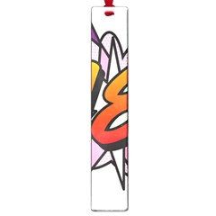 Comic Book 18 Pink Large Book Marks by ComicBookPOP