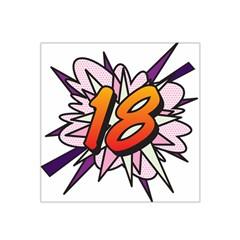 Comic Book 18 Pink Satin Bandana Scarf by ComicBookPOP