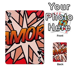 Comic Book Amor!  Playing Cards 54 Designs