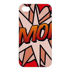 Comic Book Amor!  Apple iPhone 4/4S Hardshell Case by ComicBookPOP