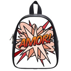 Comic Book Amor! School Bags (Small)  by ComicBookPOP
