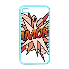 Comic Book Amor! Apple iPhone 4 Case (Color) by ComicBookPOP