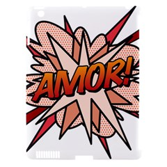 Comic Book Amor! Apple Ipad 3/4 Hardshell Case (compatible With Smart Cover) by ComicBookPOP