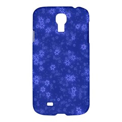 Snow Stars Blue Samsung Galaxy S4 I9500/i9505 Hardshell Case by ImpressiveMoments