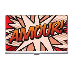 Comic Book Amour!  Business Card Holders by ComicBookPOP