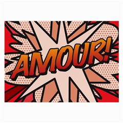 Comic Book Amour!  Large Glasses Cloth (2 Side) by ComicBookPOP