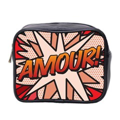 Comic Book Amour!  Mini Toiletries Bag 2-Side by ComicBookPOP