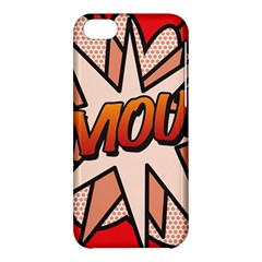Comic Book Amour!  Apple iPhone 5C Hardshell Case by ComicBookPOP