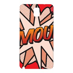 Comic Book Amour!  Samsung Galaxy Note 3 N9005 Hardshell Back Case by ComicBookPOP