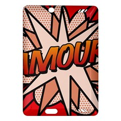 Comic Book Amour!  Kindle Fire Hd (2013) Hardshell Case by ComicBookPOP