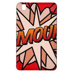 Comic Book Amour!  Samsung Galaxy Tab Pro 8.4 Hardshell Case by ComicBookPOP