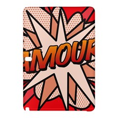 Comic Book Amour!  Samsung Galaxy Tab Pro 12 2 Hardshell Case by ComicBookPOP