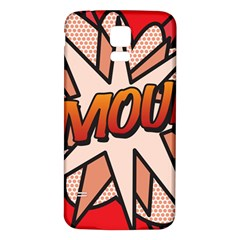 Comic Book Amour!  Samsung Galaxy S5 Back Case (white) by ComicBookPOP