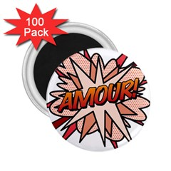 Comic Book Amour! 2.25  Magnets (100 pack)  by ComicBookPOP