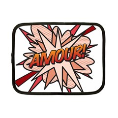 Comic Book Amour! Netbook Case (Small)  by ComicBookPOP