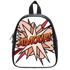 Comic Book Amour! School Bags (Small)  by ComicBookPOP