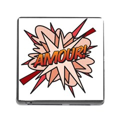 Comic Book Amour! Memory Card Reader (square) by ComicBookPOP