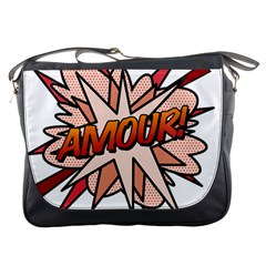 Comic Book Amour! Messenger Bags by ComicBookPOP