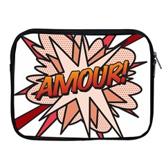 Comic Book Amour! Apple iPad 2/3/4 Zipper Cases by ComicBookPOP