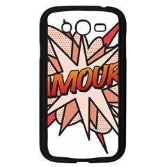 Comic Book Amour! Samsung Galaxy Grand DUOS I9082 Case (Black) by ComicBookPOP