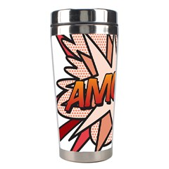 Comic Book Amour! Stainless Steel Travel Tumblers by ComicBookPOP
