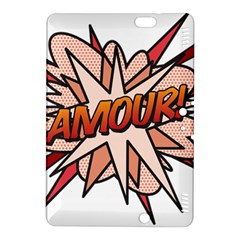 Comic Book Amour! Kindle Fire Hdx 8 9  Hardshell Case by ComicBookPOP