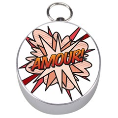 Comic Book Amour! Silver Compasses by ComicBookPOP