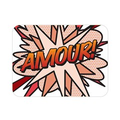 Comic Book Amour! Double Sided Flano Blanket (Mini)  by ComicBookPOP
