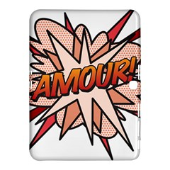 Comic Book Amour! Samsung Galaxy Tab 4 (10.1 ) Hardshell Case  by ComicBookPOP