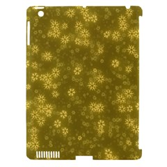 Snow Stars Golden Apple Ipad 3/4 Hardshell Case (compatible With Smart Cover) by ImpressiveMoments
