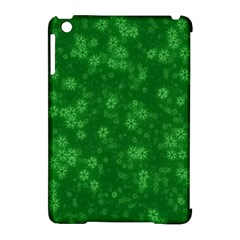 Snow Stars Green Apple Ipad Mini Hardshell Case (compatible With Smart Cover) by ImpressiveMoments