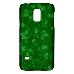 Snow Stars Green Galaxy S5 Mini by ImpressiveMoments