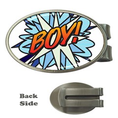 Comic Book Boy! Money Clips (oval)  by ComicBookPOP