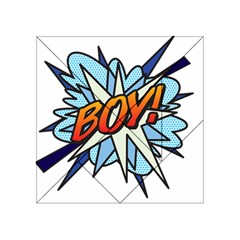 Comic Book Boy! Acrylic Tangram Puzzle (4  x 4 ) by ComicBookPOP