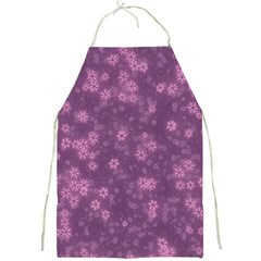 Snow Stars Lilac Full Print Aprons by ImpressiveMoments
