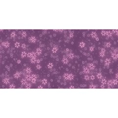 Snow Stars Lilac You Are Invited 3d Greeting Card (8x4)
