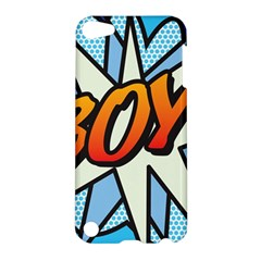 Comic Book Boy!  Apple iPod Touch 5 Hardshell Case by ComicBookPOP