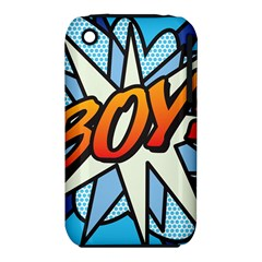 Comic Book Boy!  Apple iPhone 3G/3GS Hardshell Case (PC+Silicone) by ComicBookPOP