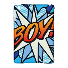 Comic Book Boy!  Apple iPad Mini Hardshell Case (Compatible with Smart Cover) by ComicBookPOP