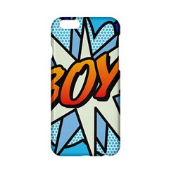 Comic Book Boy!  Apple Iphone 6/6s Hardshell Case by ComicBookPOP
