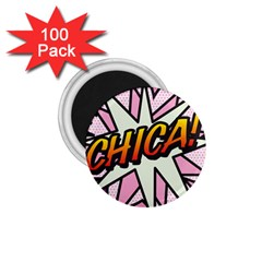Comic Book Chica!  1.75  Magnets (100 pack)  by ComicBookPOP