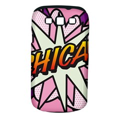 Comic Book Chica!  Samsung Galaxy S Iii Classic Hardshell Case (pc+silicone) by ComicBookPOP