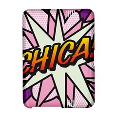 Comic Book Chica!  Kindle Fire HD Hardshell Case by ComicBookPOP