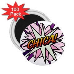 Comic Book Chica! 2.25  Magnets (100 pack)  by ComicBookPOP