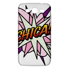 Comic Book Chica! Samsung Galaxy Mega 5 8 I9152 Hardshell Case  by ComicBookPOP